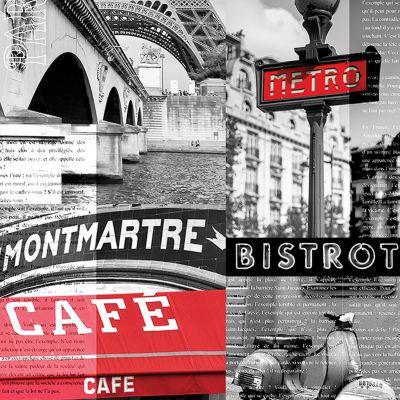 Affiche Café De Paris 24 x 30 cm