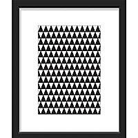 Image encadrée Triangles 24 x 30 cm