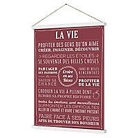 Kakémono La Vie 36 x 52 cm
