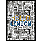 Cadre vitrine Hello London 50 x 70 cm