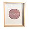 Cadre vitrine vide bois 40 x 50 cm