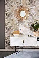 Miroir rotin 74 x 74 cm