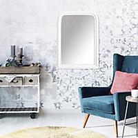 Miroir charme antique Dada Art blanc