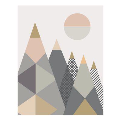 Affiche Montagne 40 x 50 cm