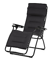 Relax métal et toile Lafuma Futura Air Comfort acier