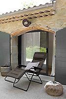 Relax métal et toile Lafuma Futura Air Comfort taupe