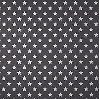 Papier peint duplex Etoile noir argent