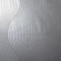 Papier peint vinyle Orion argent