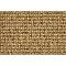 Moquette fibre synthétique croisé marron Forest (vendue au m²).