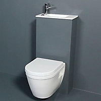 Pack WC suspendu et lave-mains Duo