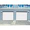 Porte de garage enroulable Protecta Opale blanche - L.240 x h.200 cm (pré-montée)
