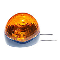 Gyrophare pour porte de garage enroulable