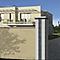 Kit pilier Moderne 39 x 39 cm blanc