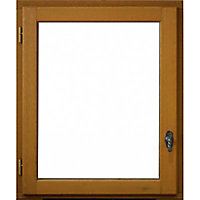 Fenêtre bois 1 vantail ouverture à la française tirant gauche 80 x h.75 cm