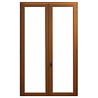Fenêtre bois 2 vantaux ouverture à la française tirant droit 90 x h.175 cm