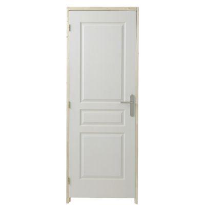 bloc porte post form 3p 73cm castorama. Black Bedroom Furniture Sets. Home Design Ideas