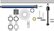 Kit volet roulant motorise Roller drive 250 x 200 Somfy