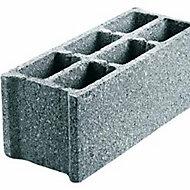 Parpaing creux béton B40 20 x 20 x 50cm