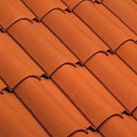 Faîtière arêtier conique Oméga rouge