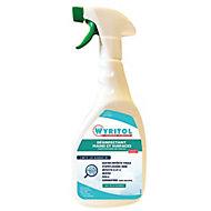 Spray désinfectant dégraissant surface et sol Wyritol 750mL