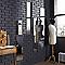 Miroir Lovaspy avec strass 25 x 120 cm