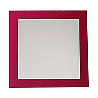 Miroir Rose 35 x 35 cm