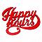 """Mot décoratif rouge """"Happy Hours"""""""