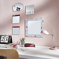 Miroir carré Smile 20 x 20 cm
