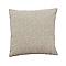 Coussin Panxi beige/blanc 45 x 45 cm