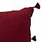 Coussin Asa bordeaux 40 x 60 cm