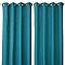 Rideau Josepha turquoise 140 x 240 cm