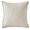 Coussin Cosy taupe 40 x 40 cm