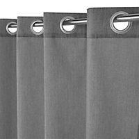 Rideau Cosy gris 140 x 240 cm