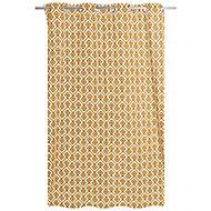 Rideau Akim jaune 140 x 240 cm