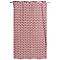 Rideau Akim rouge 140 x 240 cm