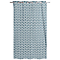 Rideau Akim bleu 140 x 240 cm