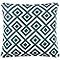 Coussin Akim bleu 40 x 40 cm