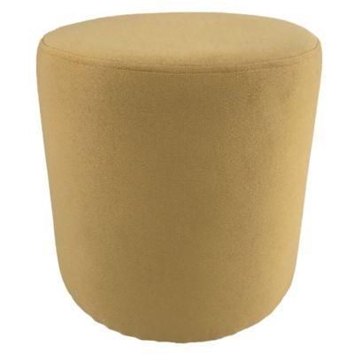 Pouf Barnabé Ø35cm H.35cm jaune