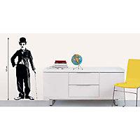 Sticker mur Charlie Chaplin