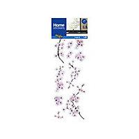 Sticker Fenêtre Cerisier en fleurs