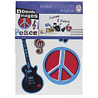 Sticker Peace & musci