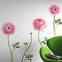 Sticker Renoncules roses