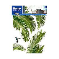 Sticker vitres XL Palmes