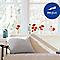 Sticker vitres Coquelicots