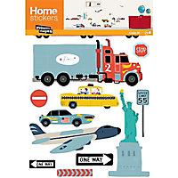 Sticker Transport US