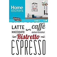 Sticker mur Café lungo
