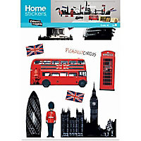 Sticker London skyline