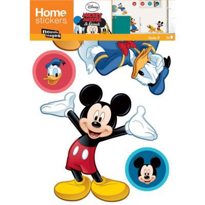 Sticker Disney Mickey 4 copains