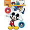 Sticker Disney Mickey 4 copains