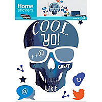 Sticker Skull cool